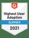 Highest User Adpotion