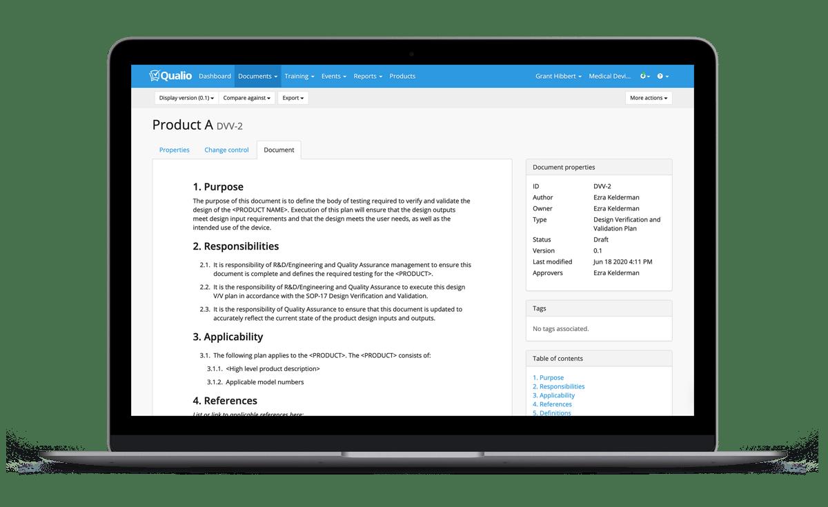 Product-document-template_Qualio